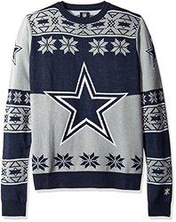 Nfl Big Logo Sweater: Dallas Cowboys/large