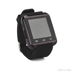 Generic Bluetooth Smartwatch for iPhone 6S/5/5S/Samsung S6/Note 5 - Black