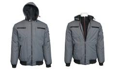 Spire Men's Heavyweight Moto Jacket - Dark Grey - Size: Medium