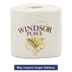 Atlas Paper Mills Windsor Place Premium Bathroom Tissue, 2-Ply, 4 1/2 x 4, 500/Roll,80 Roll/Crtn