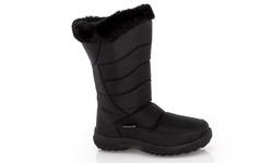 Snow Tec Women's Frost-4 Snow Boots - Black - Size: 5