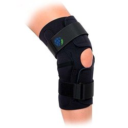 United Surgical Wrap Around Hinged Knee Brace - Size: X-Large