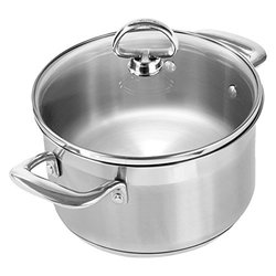 Chantal Induction 21 Steel 2 Quart Soup Pot w/ Lid SLIN 32 160