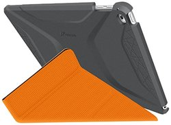 Roocase RC-APL-AIR2-OG-SS-SG-OR Apple iPad Air 2 Origami 3D Case, Space Gray & roocase Orange
