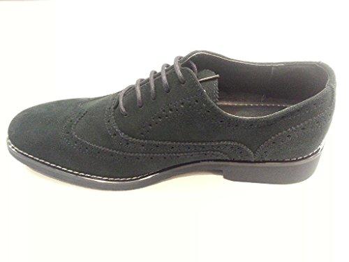 872f8a049a3f ... Joseph Abboud Men's Kelvin Brogue Shoes - Light Blue Suede - Size: ...