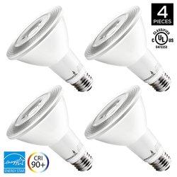 Hyperikon LED Dimmable 12W Flood Light Bulb Pack of 4