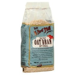 Bob's Red Mill Cereal Oat Bran Pack of 4 - 18 Oz
