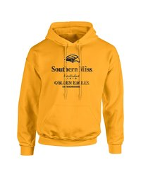SDI NCAA Southern Mississippi Golden Eagles Hoodie - Gold - Size: X-Large