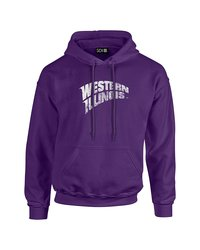 SDI NCAA Western Illinois Leathernecks Mascot Hoodie - Purple - Size: S