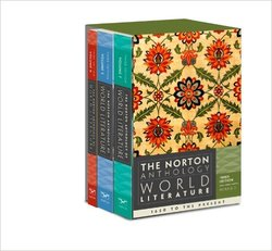 W W Norton The Norton Anthology of World Literature 3 Edition Paperback