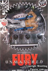 WWE Unmatched Fury Figure of Superstar Rey Mysterio - Action Figure
