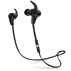 1byone Bluetooth 4.1 Wireless Sports Earphones with HD Stereo Sound - Blk
