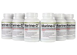Marine Essentials D3 Anti Aging Supplement with Form of Omega 3 6 Pcks