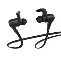 TAIR Stereo Bluetooth 4.0 Headphones with Microphone - Black