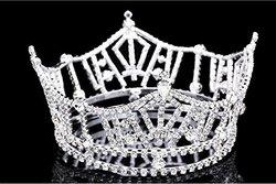 Signstek Women's Crystal Tiara Shining Rhinestone Crown - Full Crown 2