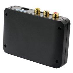 Portta PETCSHP 3 RCA Composite S-video Audio to HDMI Converter Upscaler