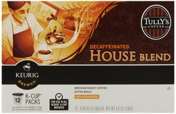 Tully's Coffee House Blend Decaf Keurig K-Cups Coffee - 72 Count