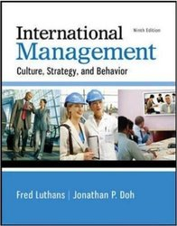 International Management: Culture Strategy & Behavior 9th Revised ed.