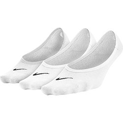 Nike Performance Cotton Women's No Show Liners - 3 Pack White