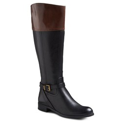 Merona Women's Estelle Riding Boots - Black - Size: 8.5