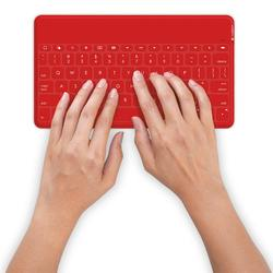 Logitech Keys-To-Go Ultra Keyboard for Apple Divices - Red (920-006735)