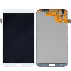 "Flashtechllc Galaxy Mega 6.3"" LCD Touch Screen Digitizer Assembly - White"