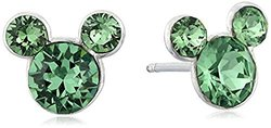 "Disney ""Mickey"" August Crystal Studs"