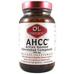 Olympian Labs - Ahcc, 750mg, 60 Capsules, Support For The Body's Natural Defense Mechanisms