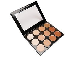 Mehron Women's Oil and Fragrance Free 12 Shade HD Foundation Palette