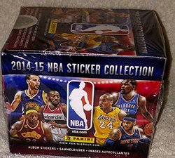 2014-15 Official Panini NBA Sticker Collection - 50 Sticker Packets Per Box (5 Stickers Per Pack)