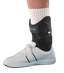 Ankle Support Brace Left Foot - Black - Size: Small (AC141AB04-S-L)