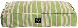 Harry Barker Classic Stripe Dog Bed - Green - Small