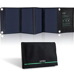 Vinsic SP103 22Watt Portable & Foldable Dual-Port Solar Panel Charger