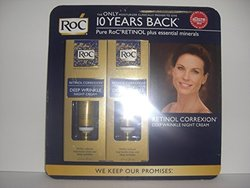 RoC-Set of 2-Retionol Correxion - Deep Wrinkle Night Cream - 1.0 fl oz