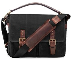 ONA The Prince Street Camera Messenger Bag, Black