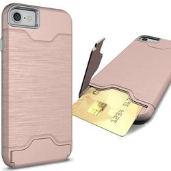 Waloo Slim Kickstand Case - iPhone 7 Plus - Pink
