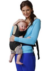 Baby & Mom Ultimate Baby Carrier - Stylish & Safe - Black