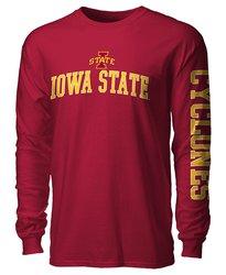 NCAA Iowa State Cyclones Men's Long Sleeve Tee - Cardinal - XL