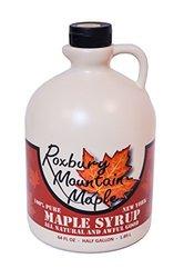 Roxbury Mountain Maple Grade A Golden Maple Syrup - 64 Ounces