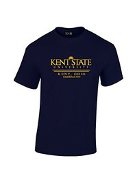 NCAA Kent State Golden Flashes Classic Seal T-Shirt, XX-Large, Navy