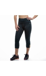 Copper Fit Women's Compression Capri Workout Leggings - Black - Size: M
