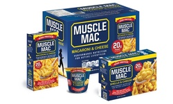 Muscle Mac: Microwaveable Cups 3.6oz (12)