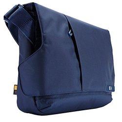 """Case Logic 11"""" Netbook & Tablet Messenger Case - Ink Blue"""