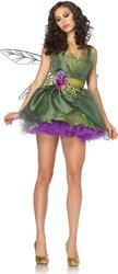 Leg Avenue Women's Woodland Fairy Costume, Green, Medium - Medium - Green