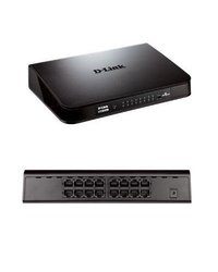 D-Link 16-Port Gigabit Switch - Green(DGS-1016A)