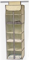 Ziz Home Hanging Clothes Storage Organiser, 12.2 by 11.7-Inch
