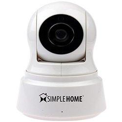 SimpleHome Wi-Fi Pan & Tilt Security Camera - White (XCS7-1002-WHT)
