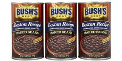 Bush's Best Boston Recipe Baked Beans Can - 28oz (Pack of 4)