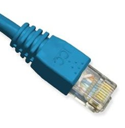 ICC ICPCSK25BL Patch Cord CAT6 Booted 25 Ft - Blue (ICPCSK25BL)