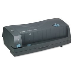 GBC 3230ST 3-Hole Punch And Stapler gray